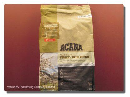 ACANA DUCK & PEAR ADULT DOG FOOD  11.4 KG