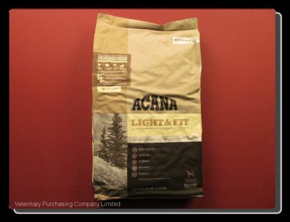 ACANA LIGHT AND FIT ADULT DOG FOOD  11.4 KG