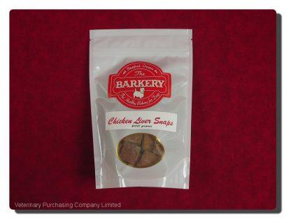 BARKERY CHICKEN LIVER SNAPS  200 G