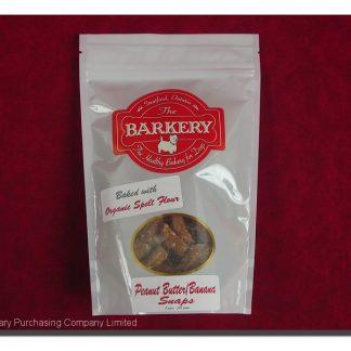 BARKERY PEANUT BUTTER/BANANA SNAPS  225 G